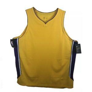 Los Angeles Lakers Nike Aeroswift Blank NBA Jersey